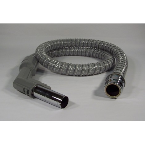 "Electrical Hose for Central Vacuum - 6' (1,82 m) - 1 1/4"" (32 mm) dia - Grey - Curved Handle - Reinforced - Electrolux SJ EH8100SG"