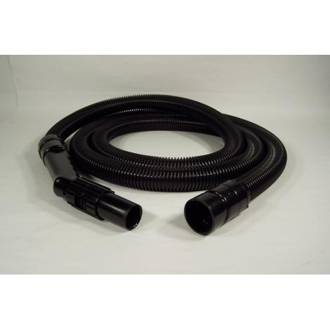 """Boyau pour aspirateur sec et humide - 3 m (10') - 32 mm (1 1/4"""") dia - noir"""