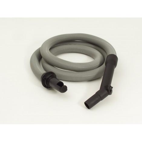 Hose for Vacuum 8' (2,43 m) - Grey - Straight Handle - Johnny Vac AS6
