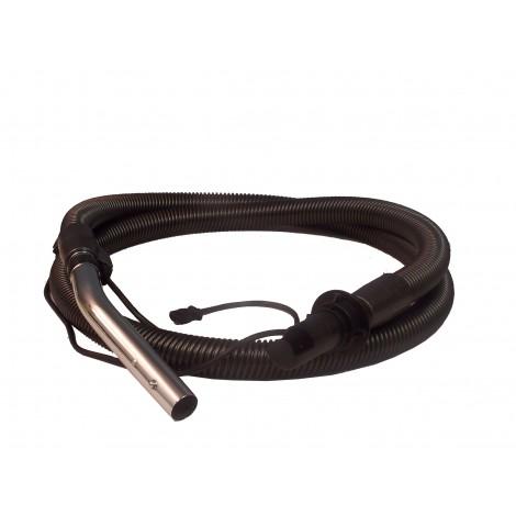 Boyau électrique pour aspirateur - 2,43 m (8') - noir - poignée droite - Johnny Vac AS6