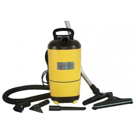 Aspirateur dorsal commercial par Carpet Pro - 11.5 ampères