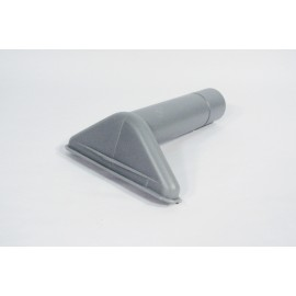 "1½ X 5"" PLASTIC UPHOLSTERY BRUSH - GREY - COMMERCIAL"