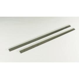 """Paquet de deux lames en caoutchouc - raclette 17½ """" pour la brosse industrielle BR650"""