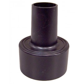2½ HOSE ADAPTOR - MACHINE SIDE - SHOP VAC - BLACK