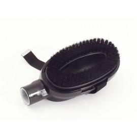 Brosse avec poils de nylon pour animaux - Wessel-Werk 12.6 218-05