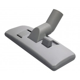 """Brosse pour les planchers et les tapis - 10"""" (30,4 cm) - 1 1/4"""" (32 mm) dia - avec pare-choc - grise"""