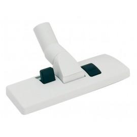 Brosse à tapis et plancher - diamètre de 32 mm - base de plastique - gris