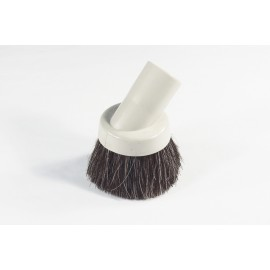 32 Mm Dusting Brush - Horsehair - Fits All - Beige