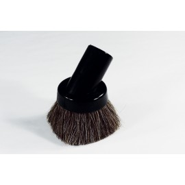 32 MM DUSTING BRUSH - HORSEHAIR - FIT ALL - BLACK