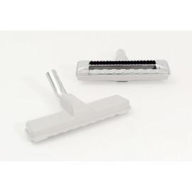 "Carpet Brush - 11"" (27.9 cm) Cleaning Path - 1 1/4"" (31.75 mm) dia - Metal Elbow - Black"