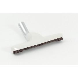 """Brosse à plancher - largeur de nettoyage de 25,4 cm (10"""") - 31,75 mm (1 ¼ """") dia - avec coude en métal - universel - beige"""