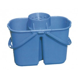 Bucket with Funnel Wringer - 3 gal (15 L) - Blue