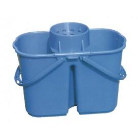 PORTABLE FUNNEL MOP WRINGER BUCKET - 3 GAL (15 L) - BLUE