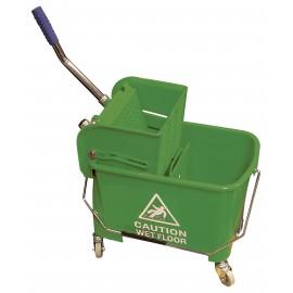 Ensemble seau et tordeur à pression latérale - 4,6 gal (21 L) - verte