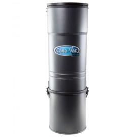 Aspirateur central Canavac - Ethos C425 - silencieux - 540 watts-air - capacité de 4 gal (16 L) - support mural - filtre microtex - sac HEPA