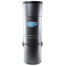 Central Vacuum - Canavac - Ethos C425 - Silent - 540 Airwatts - 4 gal (16 L) Tank Capacity - Wall Mount Bracket - Microtex Filter - HEPA Bag