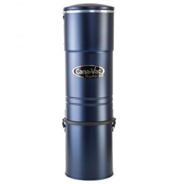 Central Vacuum - Canavac - Signature LS650 - Silent - 528 Airwatts - 5 gal (19 L) Tank Capacity - Wall Mount Bracket - HEPA bag and Filter