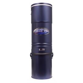 Aspirateur central Canavac - Signature LS750 - silencieux - 700 watts-air - capacité de 5 gal (19 L) - support mural - sac et filtre HEPA