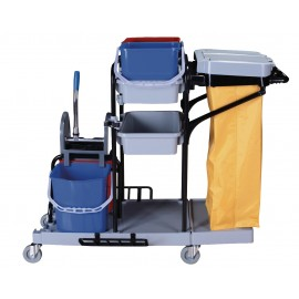 Multifunctional Janitorial Cart - European style