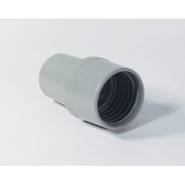 1½ SWIVELLING HOSE END CUFF - GREY