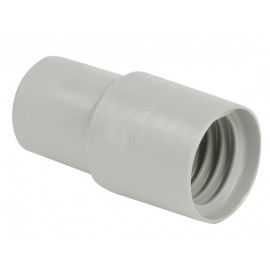 1¼ CRUSHPROOF HOSE END CUFF - GREY
