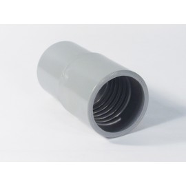 2 REINFORCED HOSE END CUFF - GREY