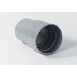 2½ CRUSHPROOF HOSE END CUFF - GREY