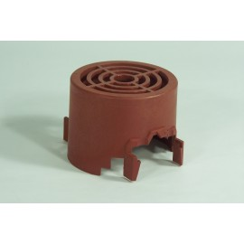 COVER FOR COOLING FAN DOMEL MOTOR - BROWN