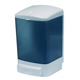 SOAP DISPENSER - 1000 ML - CLEAR BLUE