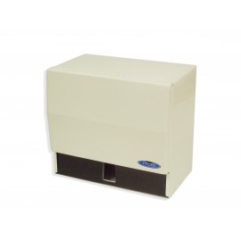 HAND TOWEL DISPENSER - ROLL AND SINGLE FOLD - FROST - WHITE