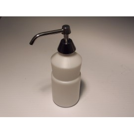 VANITY MOUNTED SOAP DISPENSER - FROST