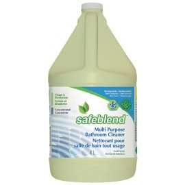 Concentrated Multi-Purpose Cleaner - for Bathroom - 1.06 gal (4 L) - Safeblend BCFR G04
