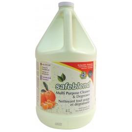 Nettoyant et dégraisseur / dégraissant tout usage - tangerine - 4 L (1,06 gal) - Safeblend CCTO G04