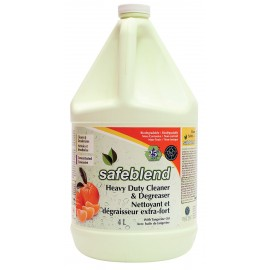 DEGREASER - EXTRA STRENGHT - CONCENTRATED - TANGERINE - SAFEBLEND - 4 L
