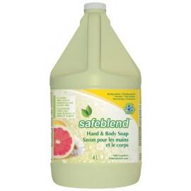 Savon pour mains et corps - pamplemousse rose - 1,06 gal (4 L) - Safeblend HLPG-G04