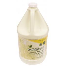 Savon pour mains et corps - sans parfum - 4 L (1,06 gal) - Safeblend HLXX-G04