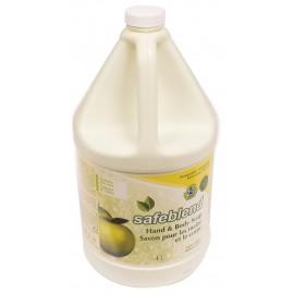 Savon pour mains et corps - pomme verte - 4 L Safeblend HLGR-G04