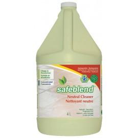 NETTOYANT NEUTRE - CONCENTRÉ - SANS PARFUM - SAFEBLEND - 4 L