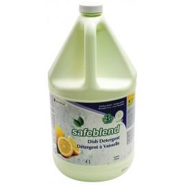 Dish Detergent / Soap - Lemon - 1.06 gal (4L) - Safeblend VCLE-G04