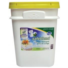 Détergent / Savon à lessive en poudre HE - parfum de linge frais - 39,7 lb (18 kg) - Safeblend LPFR-1YS