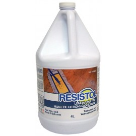Lemon Oil Treatment for Floor and Furniture - Resistol - 1.06 gal (4 L) - Safeblend LEOI GW4