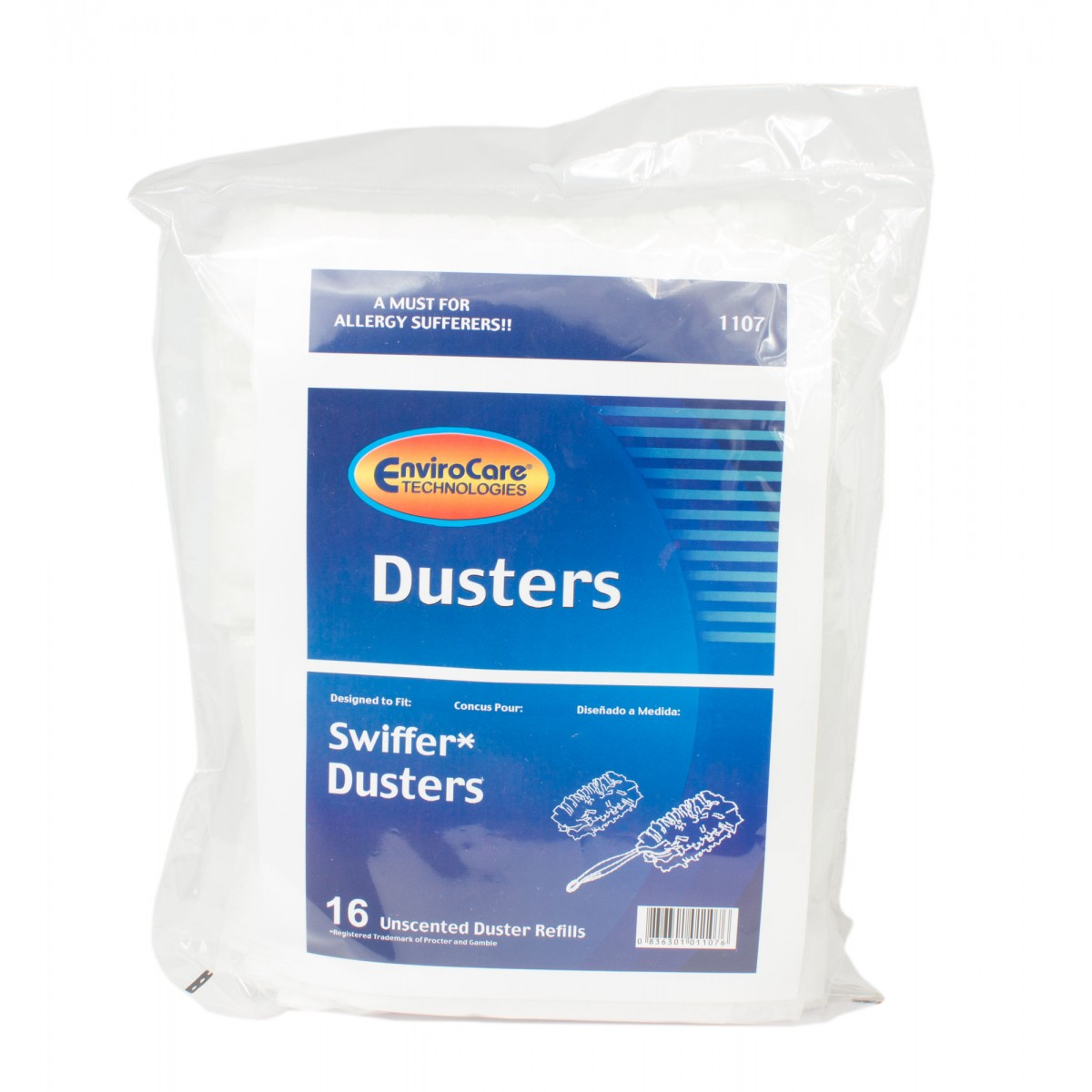 Unscented Duster Refills For Swiffer Dusters Pack Of 16