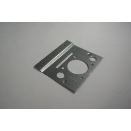 METAL MOUNTING PLATE - FOR CENTRAL VAC