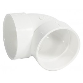 Short 90° Elbow Fitting - for Central Vacuum Piping Hayden 765506W