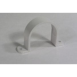 """Attache pour tuyau de 2"""" blanc, pour installation d'aspirateur central Plastiflex SV8088-M"""