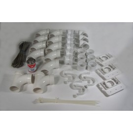3 INLETS FITTING KIT - NO VALVE - FOR CENTRAL VAC