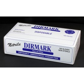 NITRILE GLOVES - WITHOUT POWDER - XL - BOX/100