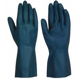 HEAVY DUTY LATEX WORK GLOVES - M