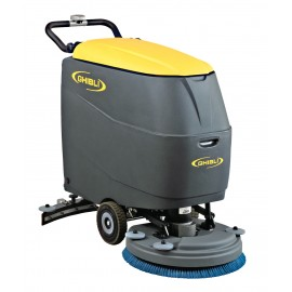 "22"" AUTOSCRUBBER WITH TRACTION FRONT/BACK - GHIBLI"