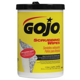 HEAVY DUTY SCRUBBING WIPE - GOJO - 72 WIPES
